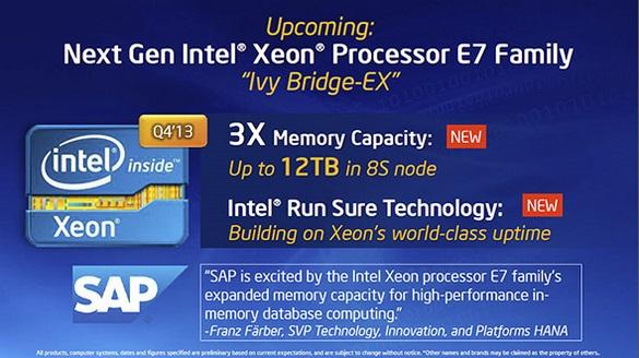 Intel Haswell és Ivy-Bridge EP Xeon 5
