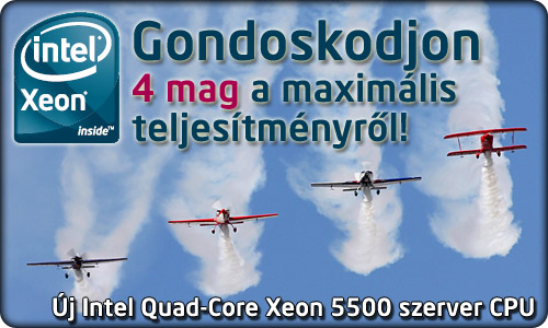Quad-Core Xeon 5500-as sorozat