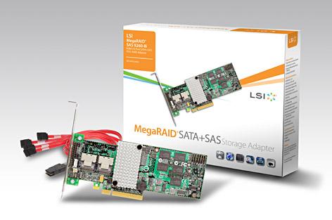 LSI MegaRAID SAS 9260-8i