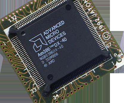 AMD 386 CPU