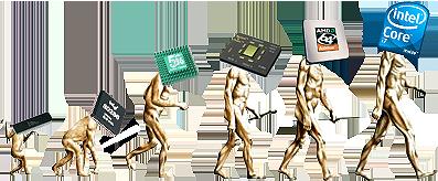 x86 evolúció