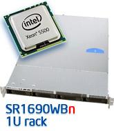 Intel SR1690WB rack szerver