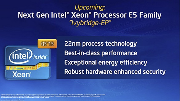 Intel Haswell és Ivy-Bridge EP Xeon 4